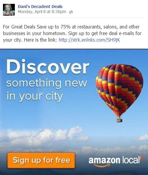 Awesome deals website Amazon..sign up here