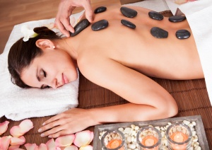 Warm Stone Massage - Chill & Relax Spa