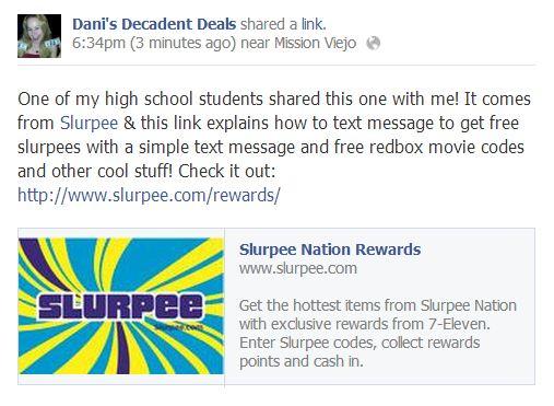 FREE Slurpees & other cool stuff!