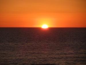 Gorgeous Sunset in Huntington Beach
