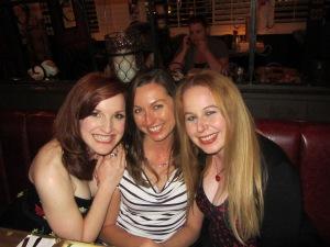 Good times with girlfriends at Mi Caasa