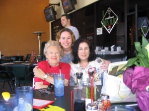 Me, my mom & Grandma on Mother's day