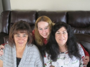 Mother-In-Law, me, & My mom on Mother's Day