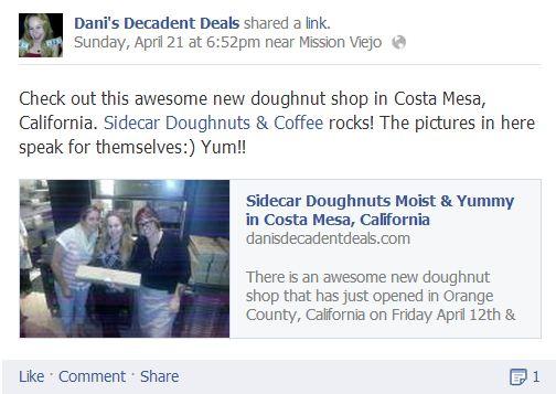 Sidecar Doughnuts, Costa Mesa, California Grand Opening