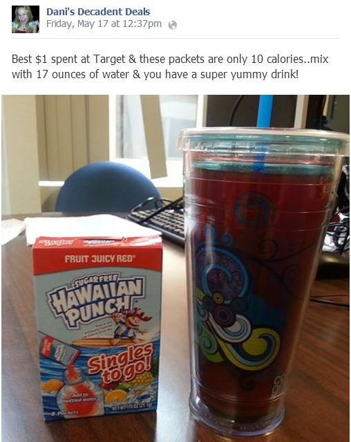 $1 Hawaiian Punch Packets at Target