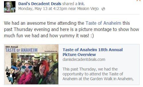 18th Annual Taste of Anaheim