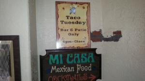 Mi Casa RSM Bar Signs