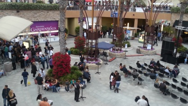 View from the second level of the Gardenwalk