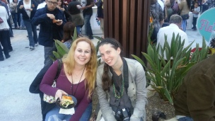 Me & my buddy, Jamie from Minnesota Girl Living in LA