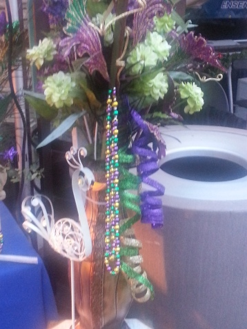 Mardi Gras Time in New Orleans Square in Disneyland