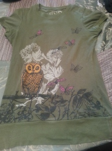 Owl shirt by Delia's - $2.50