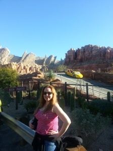 Cars Land - the Home of Flo's Cafe