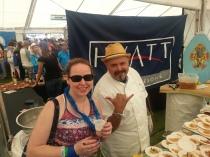 Dani & Chef Jose from Hyatt