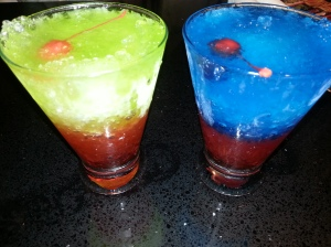 Dave & Buster's Snow cone Drinks