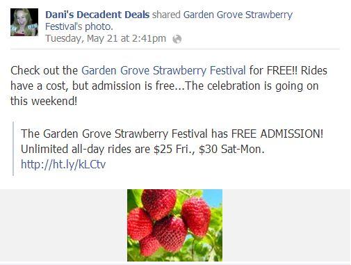 oxnard strawberry festival coupon code