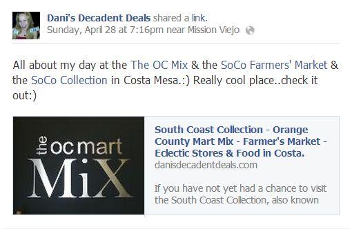 OC Mart MIx & SOCO & Farmer's Market Costa Mesa
