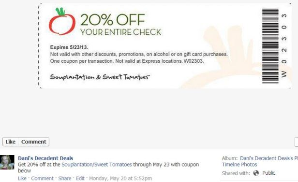 Souplantation - 20% off thru 5-23-13