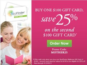 Spa Finder Wellness - Discounted Gift Card