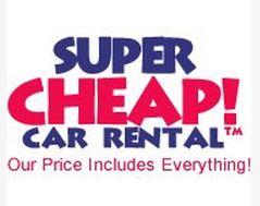 Super Cheap Car Rental Logo