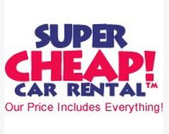 Super Cheap Car Rental Logo