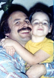 Me & my daddy in 1982