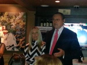 Owners Antonio & Fiorella Cagnolo