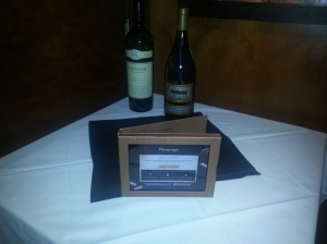 Wine Ipad Menu Exclusive Only at Fleming's