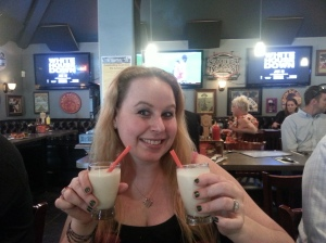 Dani with Bananas Foster & S'Mores Milkshakes