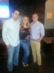 Dani with Hubby & Scott Slater :)
