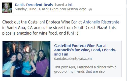 Castellani Enoteca Wine Bar