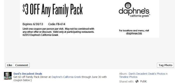 Daphne's Greek $3 off Family Pack thru 6-30