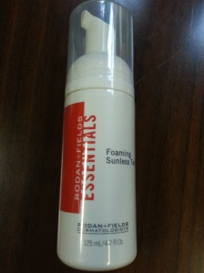 Foaming Sunless Tanning Lotion