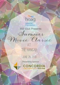 Hoag Hospital Summer Movie Event