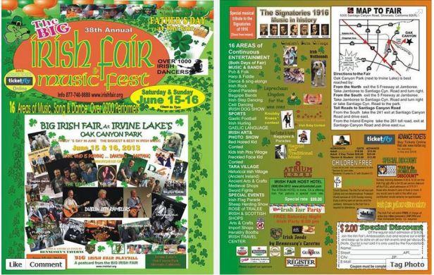 Irish Fair Music Fest Irvine
