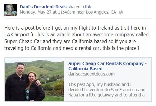 Super Cheap Rental Cars in California
