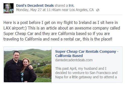 Super Cheap Rental Cars in California