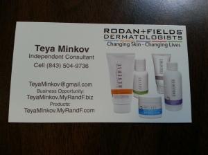 Teya Minkov Business Card