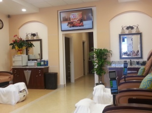 La Belle Nail Spa Interior