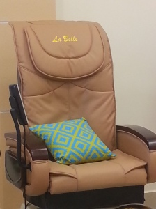La Belle Nail Spa Massage Chair