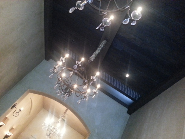 Chandelier In Our Dining Room