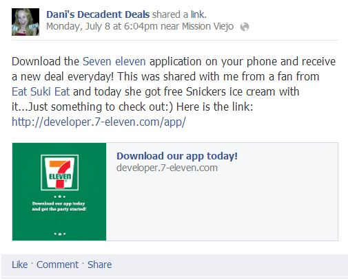 Awesome 7-11 Phone App