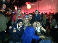 OC Fairgrounds New Years Eve Block Party with friends 2012