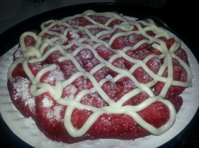 Red Velvet Funnel Cake 2012 OC FAIR FOOD