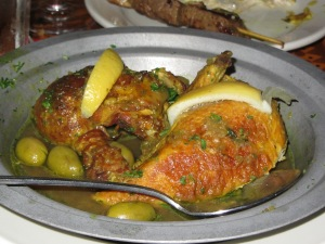 Chicken Dish at Marrakesh