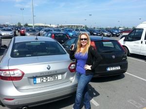 Our Rental Car - The Fluence (European Car)