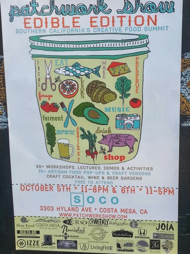 Patchwork Show Edible Edition SOCO Costa Mesa