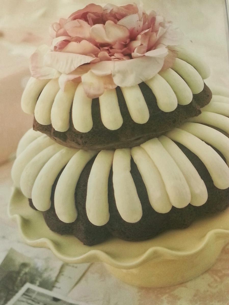 Double Layer Bundt Cake