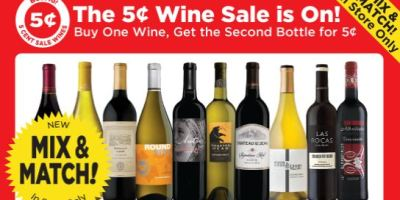 bevmo 5 cent wine sale, mix and match