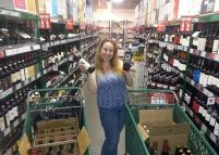 Dani Shopping the 5 Cent Wine Sale At BevMo