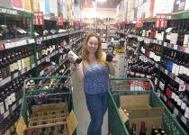 Dani Shopping the 5 Cent Wine Sale At BevMo